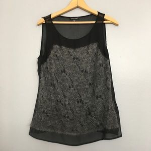 EILEEN FISHER | Silk Mohair Sleeveless Blouse Sz M